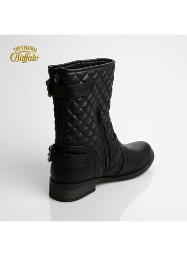 Buffalo Sandalet Siyah
